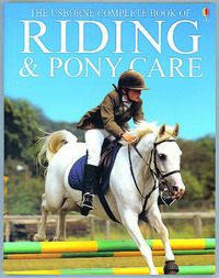 Riding and Pony Care by Gill Harvey image