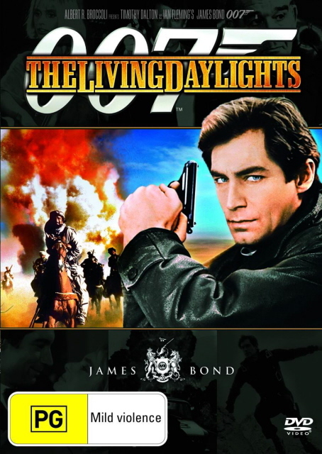James Bond - Living Daylights on DVD