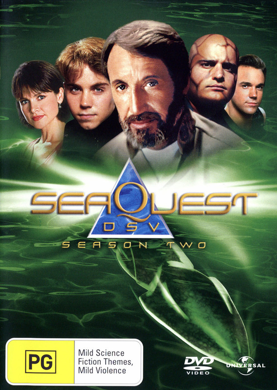 SeaQuest DSV - Season 2 (8 Disc Set) on DVD