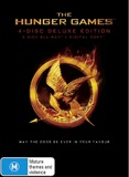 The Hunger Games (Blu-ray/Digital) (4 Disc Deluxe Edition) on Blu-ray, DC