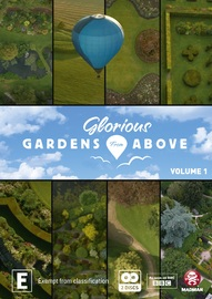 Glorious Gardens From Above: Volume 1 - Cornwall To North Wales on DVD