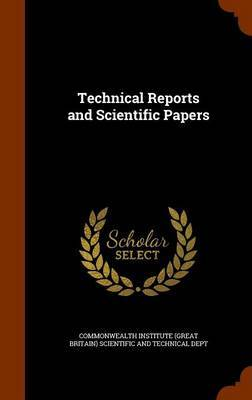 Technical Reports and Scientific Papers image