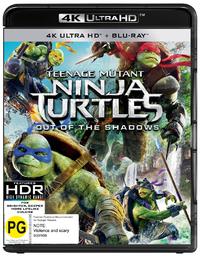 Teenage Mutant Ninja Turtles: Out of the Shadows on Blu-ray, UHD Blu-ray