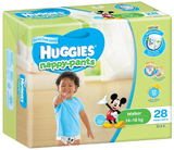 Huggies Nappy Pants Bulk - Walker Boy 14-18kgs (28)