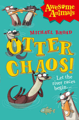 Otter Chaos! by Michael Broad image