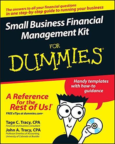 Small Business Financial Management Kit For Dummies by Tage C Tracy