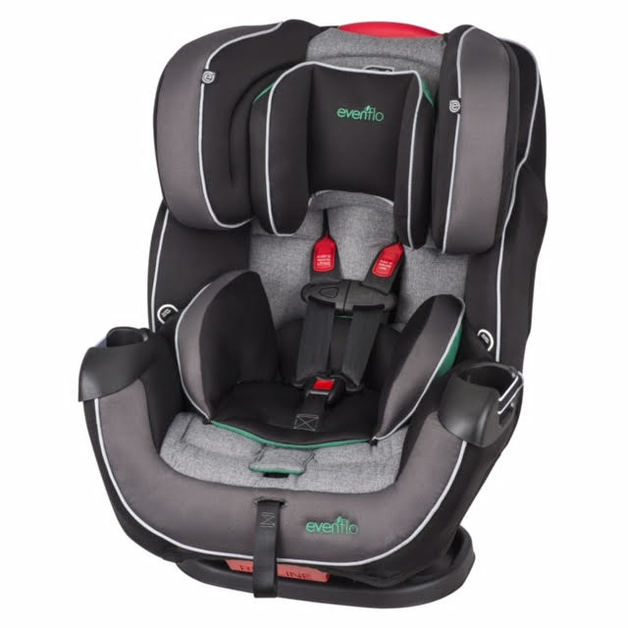 Evenflo Symphony DLX 65 All In One Car Seat Green