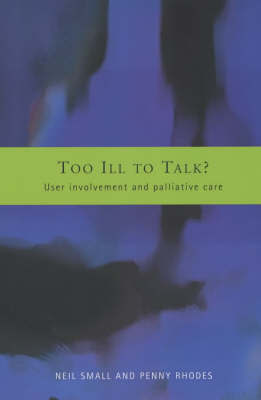 Too Ill to Talk? by Neil Small image