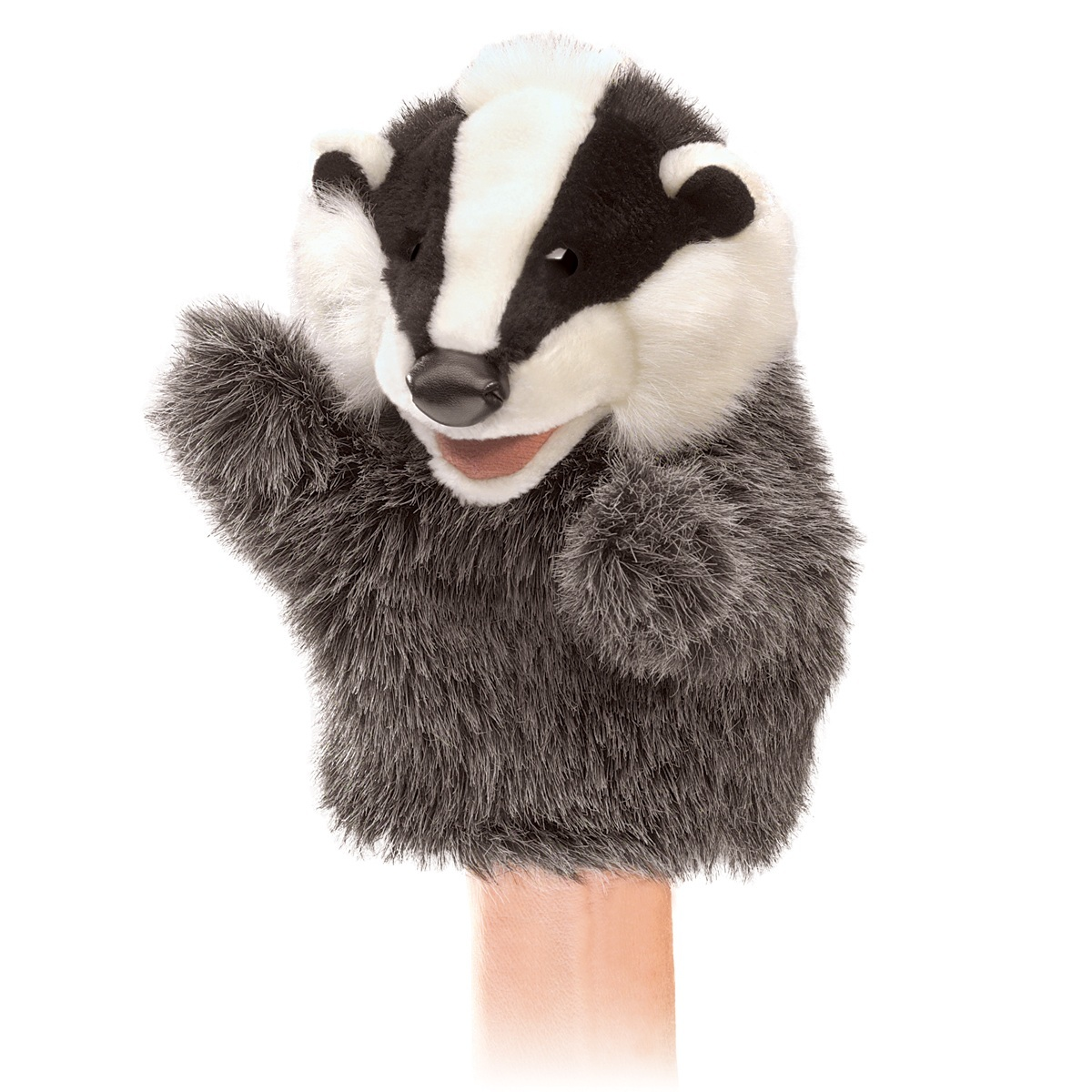 Folkmanis Hand Puppet - Little Badger image