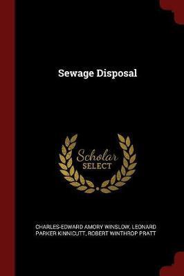 Sewage Disposal by Charles Edward Amory Winslow image