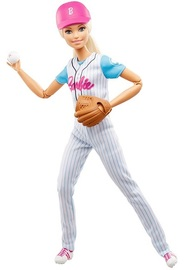 Barbie: Made to Move - Baseball Player Doll (Blond)