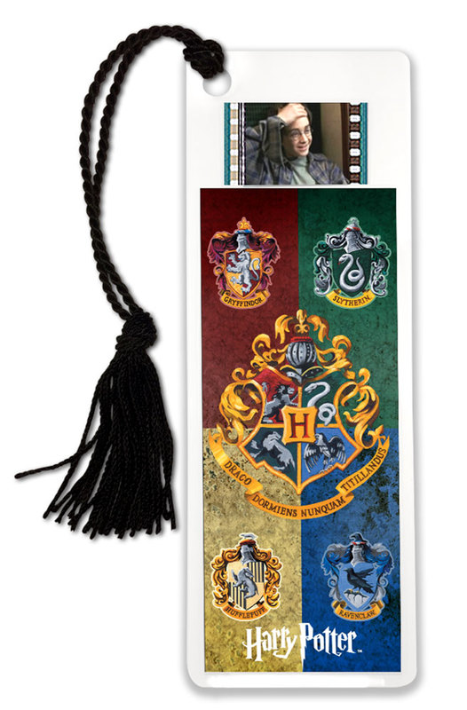 FilmCells: Film Cell Bookmark - Harry Potter (House Banners)