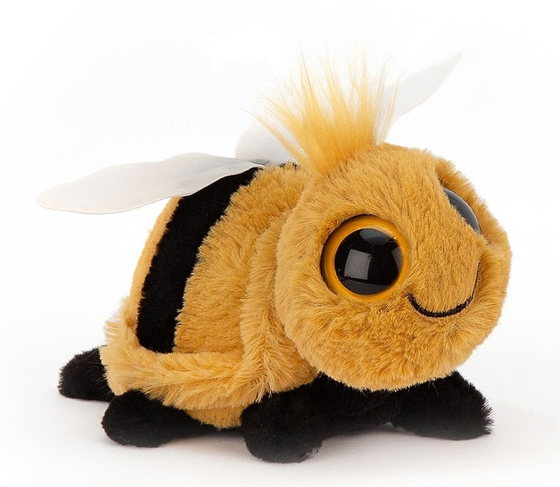 Jellycat: Frizzles Bee - Small Plush