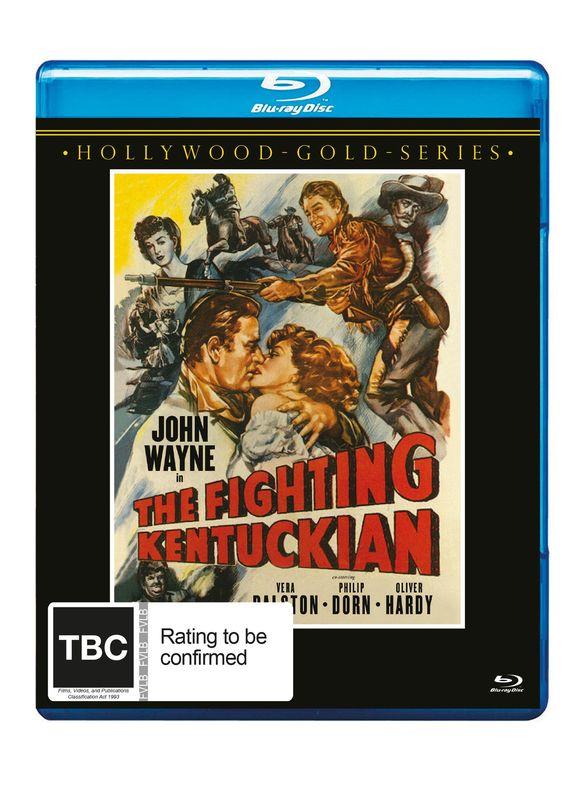 The Fighting Kentuckian on Blu-ray