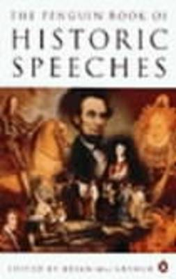 The Penguin Book of Historic Speeches by Brian MacArthur image