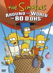 The Simpsons - Around The World In 80 D'ohs on DVD