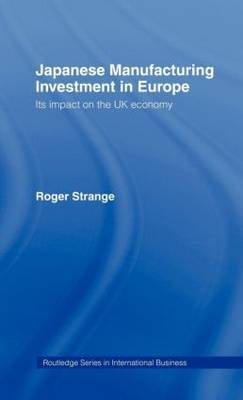 Japanese Manufacturing Investment in Europe by Roger Strange image