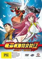 Godannar - Mission 7: War Bride on DVD