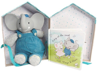 Meiya & Alvin: Alvin the Elephant - Deluxe Teether and Book Set