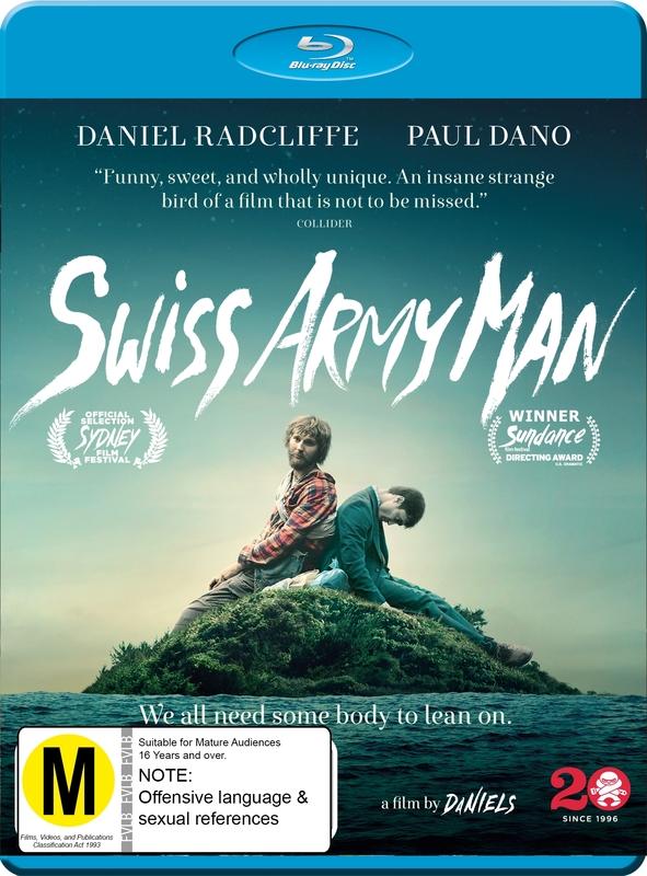 Swiss Army Man on Blu-ray