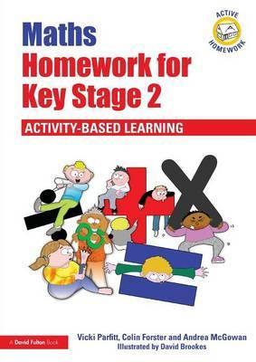 Maths Homework for Key Stage 2 by Vicki Parfitt image