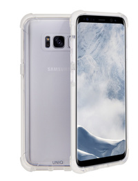 Uniq Hybrid Samsung S8+ Combat Carbon - White