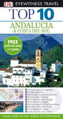 DK Eyewitness Top 10 Travel Guide: Andalucia & Costa Del Sol by Jeffrey Kennedy image