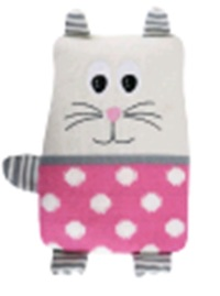 Wicked Sista Silicone Beads Heat Pack Animals Cat