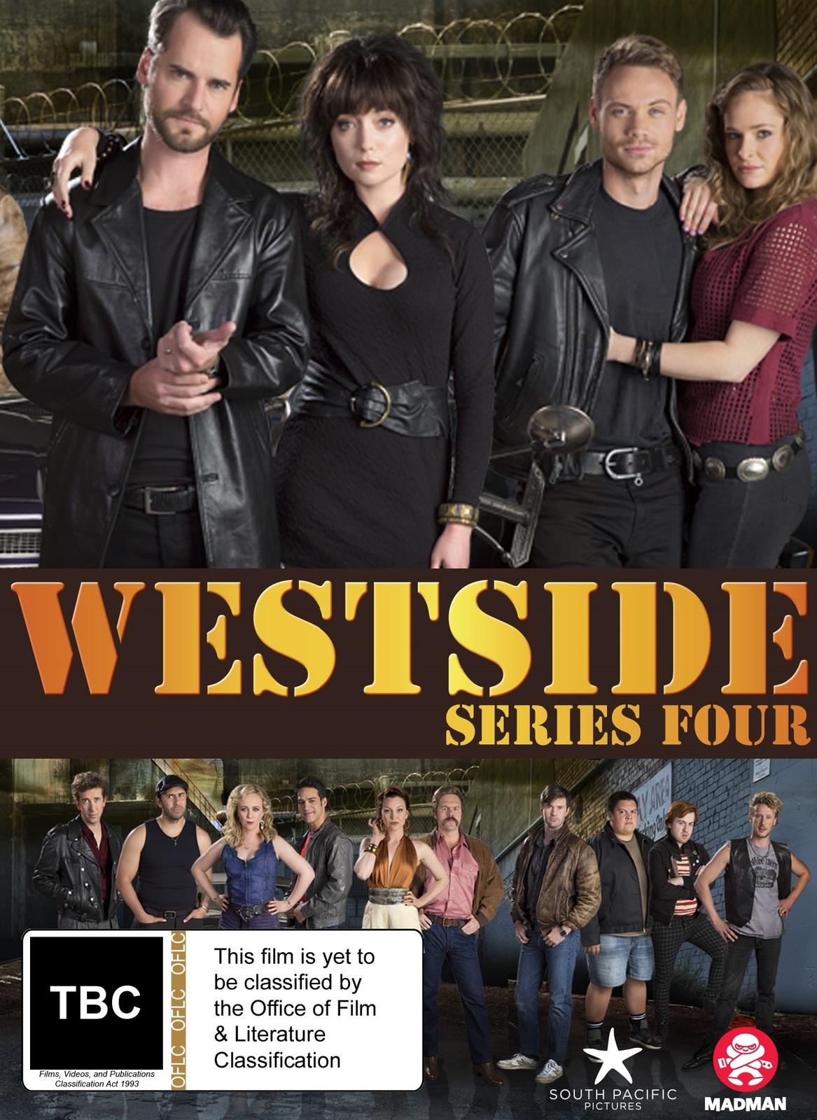 Westside Series 4 on DVD image