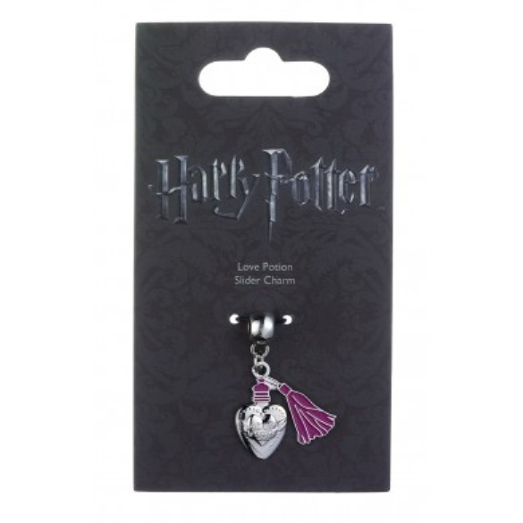 Harry Potter: Silver Plated Love Potion Slider Charm