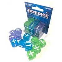 Fate Core RPG: Fate Dice - Accelerated Core