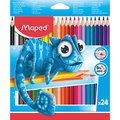 Maped: Pulse Colouring Pencils (Pack 24)