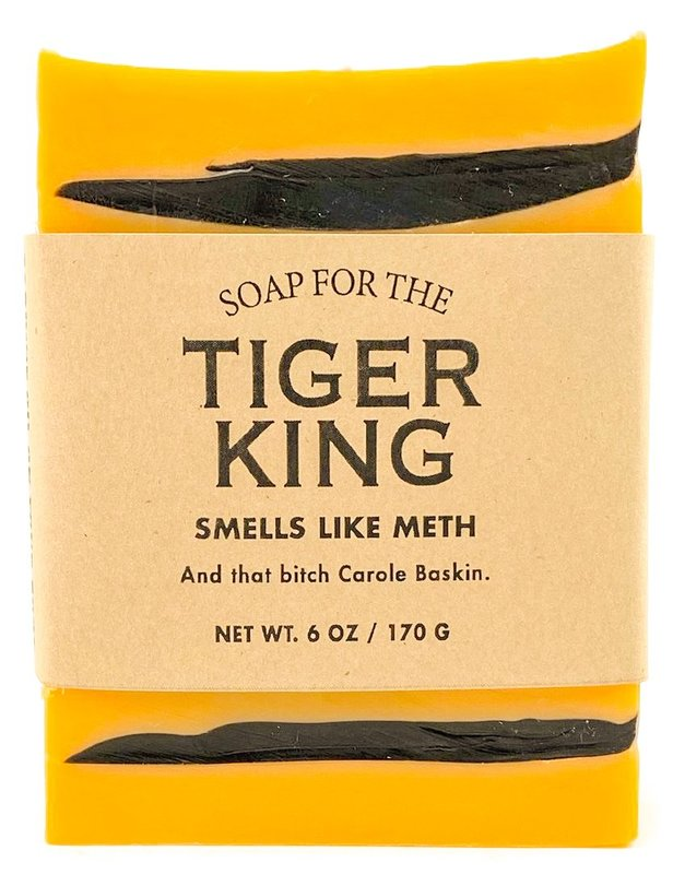 Whiskey River Co: Limited Time! Soap for the Tiger King