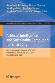 Artificial Intelligence and Sustainable Computing for Smart City