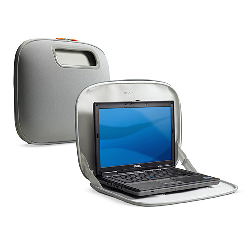 Belkin Laptop @ Home PocketTop Silver Case