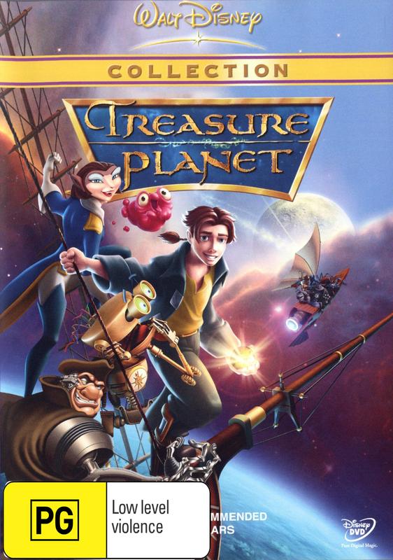 Treasure Planet on DVD