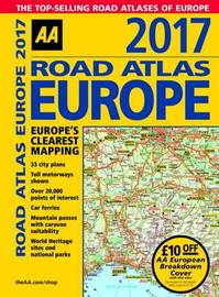 AA Road Atlas Europe 2017