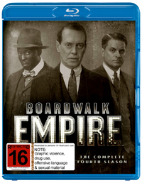 Boardwalk Empire - The Complete Fourth Season on Blu-ray