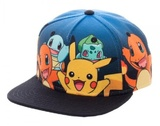 Pokemon: Starter Group Youth's Snapback Cap