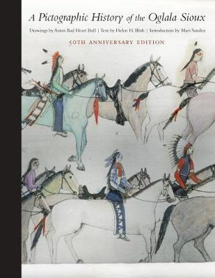 A Pictographic History of the Oglala Sioux by Helen H. Blish
