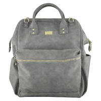 Isoki: Nappy Bag Byron XL Backpack - Stone