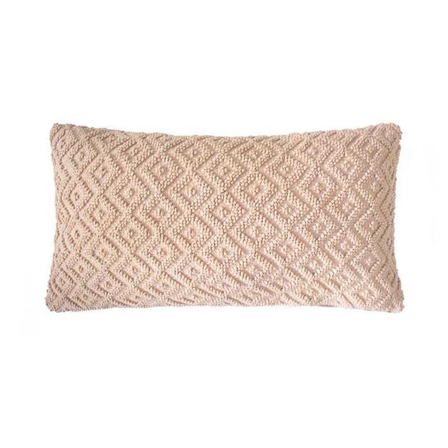 Bambury: Ilka Cushion - Nude (30 x 60cm)