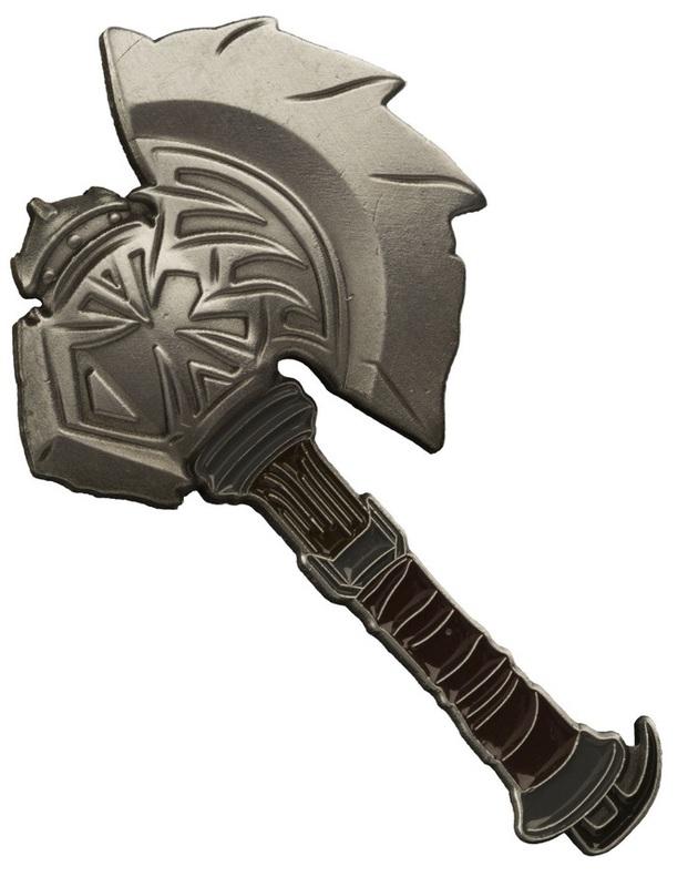 Warcraft: Durotan's Axe Collectable Pin
