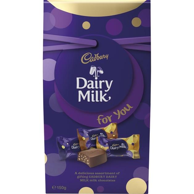 Cadbury Dairy Milk Pouch (150g)