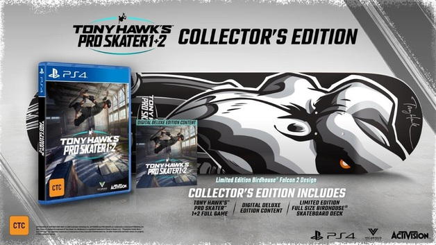 Tony Hawk's Pro Skater 1 & 2 Collector's Edition for PS4