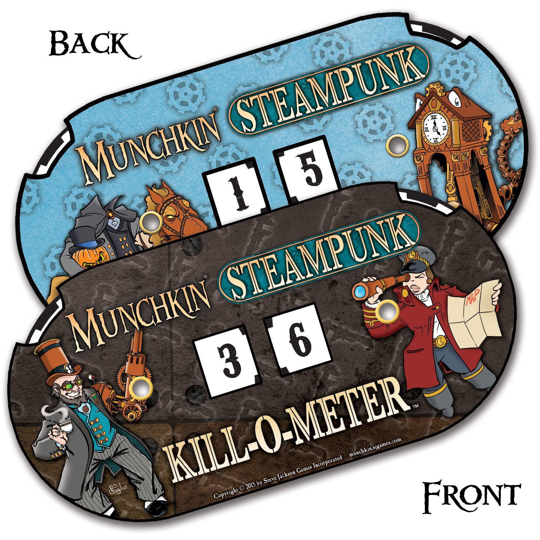 Munchkin: Steampunk - Kill-O-Meter image
