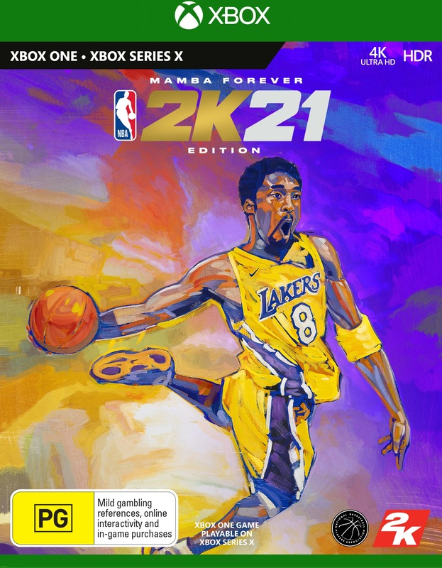 NBA 2K21 Mamba Forever Edition for Xbox One