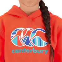 Canterbury: Girls Uglies Hoody - Hot Coral (Size 14)