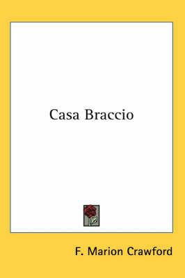 Casa Braccio by F.Marion Crawford image