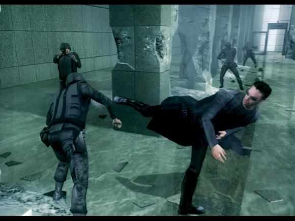 The Matrix: Path of Neo for Xbox image